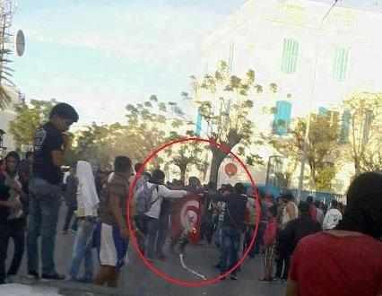 Bizerte, drapeau brulé - photo (investir-en-tunisie.net )