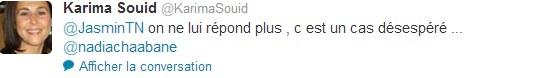 Tweet, Karima Saouid, 16-04-13