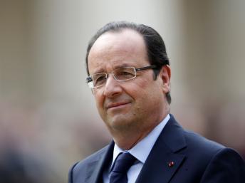 Francois Hollande - photo Reuters