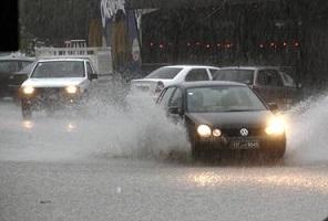 Pluie Tunis