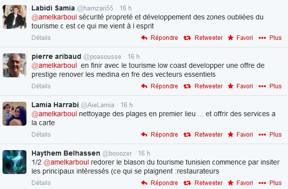 Twitter Amel Karboul - commentaires
