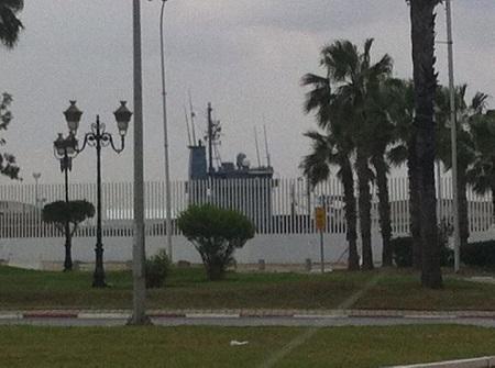 NATO a ship - à La Goulette - Ahmed Kaaniche