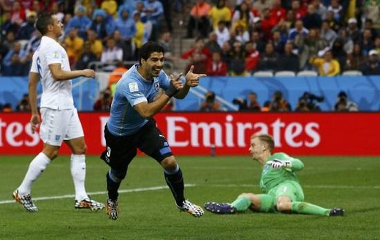 Uruguay-Angleterre (credit photo - lEquipe)