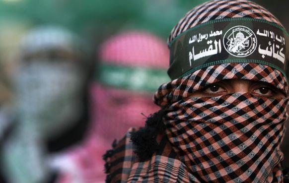 Brigades Al Qassam, branche armée du Hamas. Crédit photo AFP