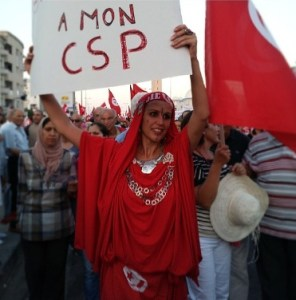 Femme Tunisie CSP