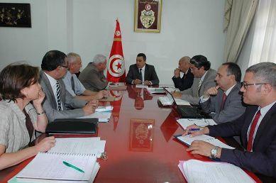 Réunion  : Plan de gestion bien confisqués Présidence du gouvernement 26 août 2014 Tunisie