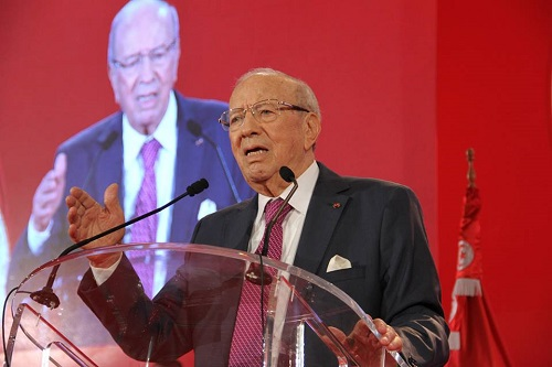 Beji Caid Essebsi (photo FB Nidaa Tounes)