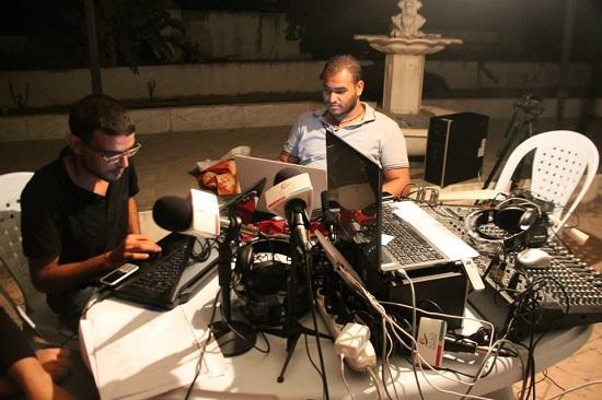 Horria FM sit-in HAICA