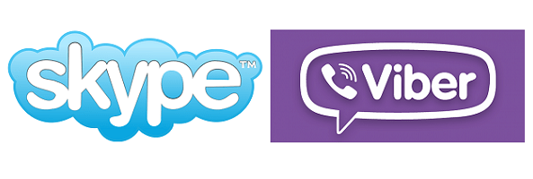skype - Viber