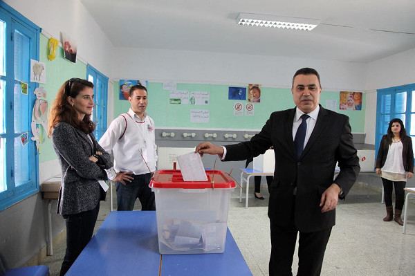 mehdi jomaa vote election presidentielle