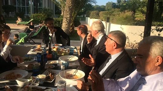 reunion levy-libyens en Tunisie (credit BHL)