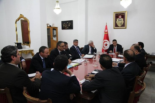 conseil ministeriel restreint - 15 janvier 2015