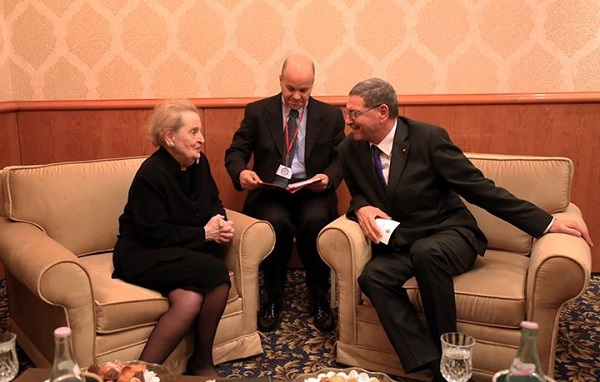 Madeleine Albright - habib Essid 05-03-2015 Pres. du Gvt