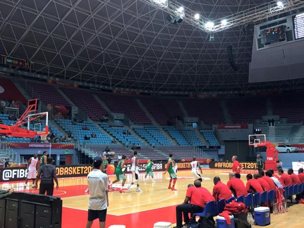 Angola vs Maroc #AfroBasket2015