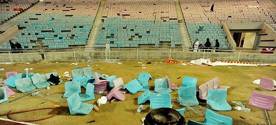stade olympique de Rades - casse (2)
