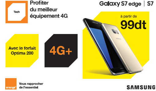 Orange Galaxy S7