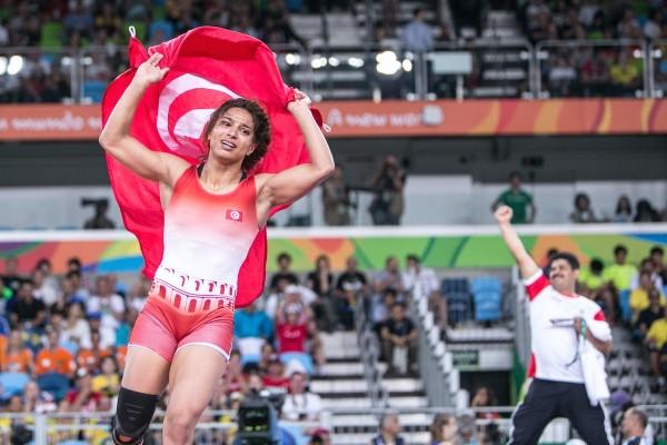 Marwa Amri médaille de Bronze