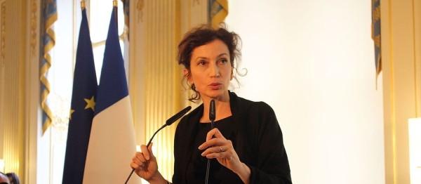 Audrey Azoulay, ministre de la Culture française
