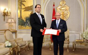 Youssef Chahed et Béji Caid Essebsi