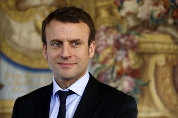 Emmanuel Macron (Photo : PATRICK KOVARIK/AFP/Getty Images)