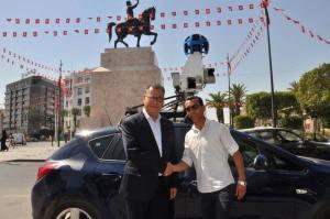 Google Street View en Tunisie