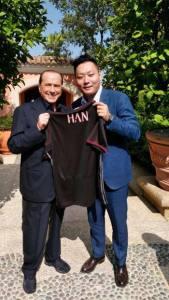 Berlusconi et Han