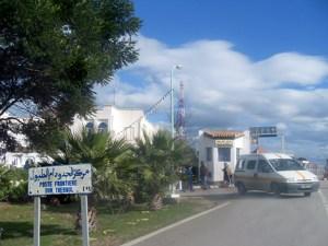 Poste frontalier de Oum Teboul | Crédit : echouroukonline