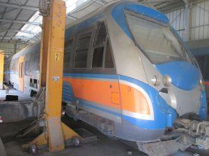 Train reliant Borj Cédria à Nabeul
