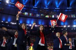 Les athlètes tunisiens à Rio