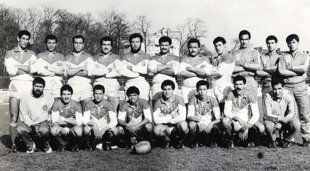 XV de Tunisie à Bourges en France-1985