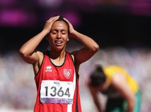 on day 10 of the London 2012 Paralympic Games at Olympic Stadium on September 8, 2012 in London, England.