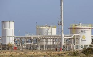 Le champ gazier de Chergui à Kerkennah (REUTERS/Mohamed Amine Ben Aziza)