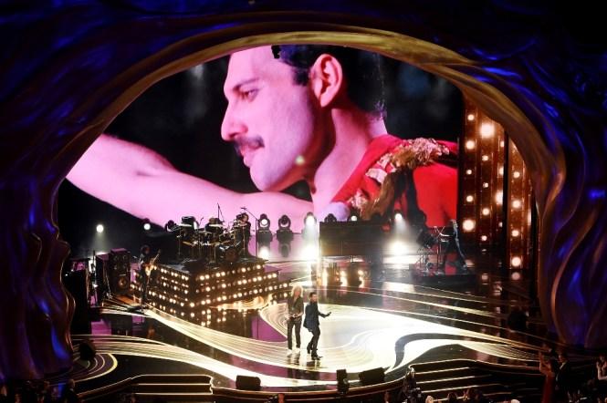 Le groupe Queen sur scène