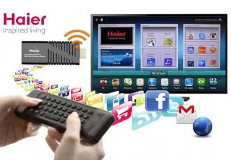0a6e3654ae7 Kit Smart Tv Haier Android Wifi Con Teclado Y Control