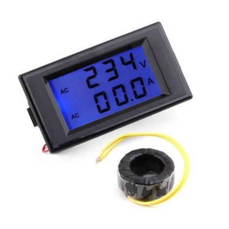 Image panel-voltimetro-y-amperimetro-80-300vac-100a-refactronika-23059-MLM20240312113_022015-O.jpg