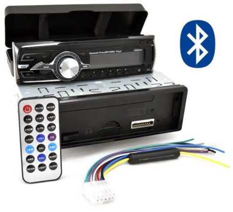 Auto Estereo 180 Watts Bluetooth Desmontable Control 0004