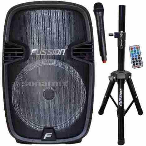 Bafle Bocina Amplificada Profesional 15 Bluetooth Usb/sd Dj