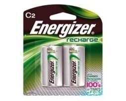 Energizer Paquete De 2 Baterias C Recargables Nh35bp-2