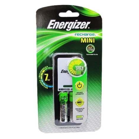 Kit Cargador Aa Aaa + 2 Baterias Energizer Nimh