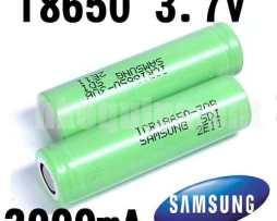 Pila Batería Recargables Samsung 18650 3.7v 3000ma Original