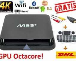 Android Tv 5.1 Gpu Octacore Ultra Rapido+teclado+rca+envio
