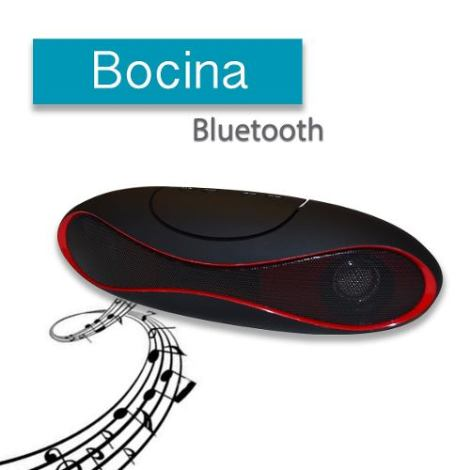 Bocina Bluetooth Recargable Voz Usb Minisd Portatil Envio Gr