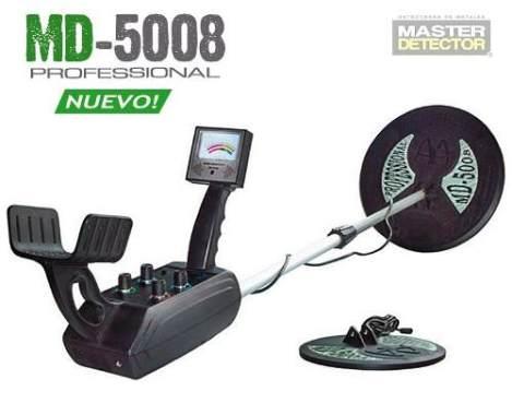 Detector De Metales Y Tesoros Mdgold5008 3.5mts Profundidad!