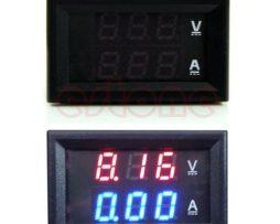 Display Voltimetro Amperimetro 100vcd Y 10a