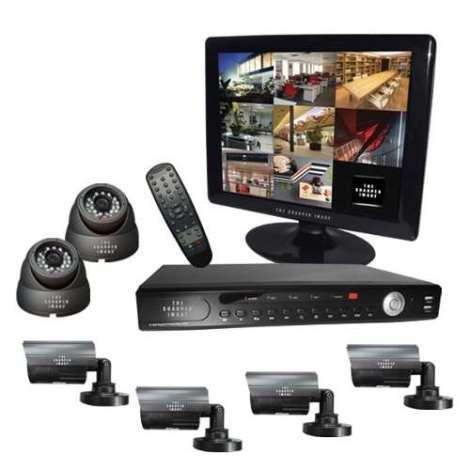 Kit Cctv Camaras Video Vigilancia Circuito Cerrado Seguridad