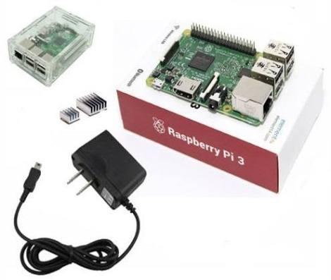 Kit Raspberry Pi 3 Bluetooth Wifi 1 Gb Ram + Accesorios