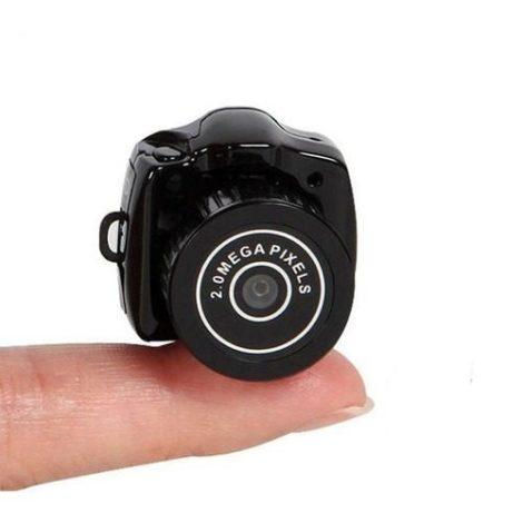Mini Camara Espia Dv Miniatura Video Con Soporte Micro Sd
