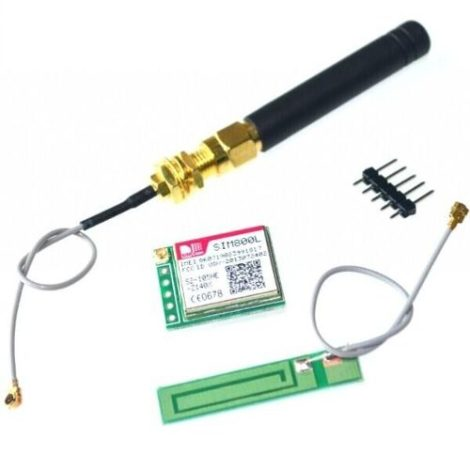 Modulo Gprs Gsm Sim800 Con Antena Sim800l No Sim900
