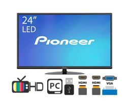 Tv Y Monitor - Pioneer Led Tv Hd 24 2hdmi