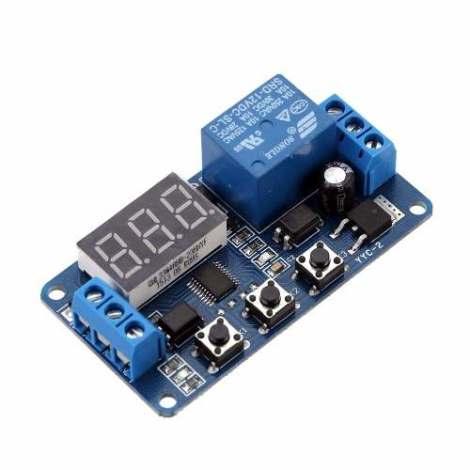 12v Timer Relay Yyc-2 Temporizador Digital Arduino Pic Avr